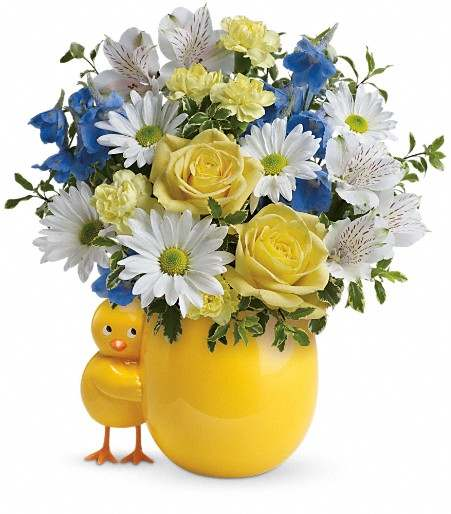 Sweet Peep Bouquet - Blue