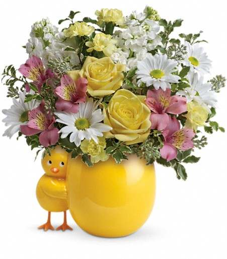 Sweet Peep Bouquet - Pink